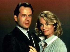 Bruce Willis et Cybill Shepherd