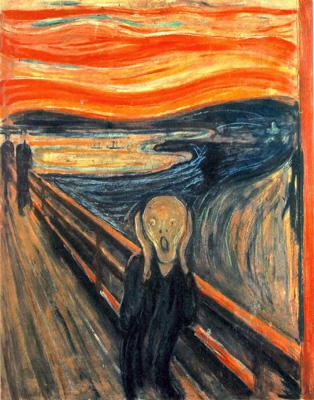 Oui enfin là c'est le Cri de Munch, mais BON.